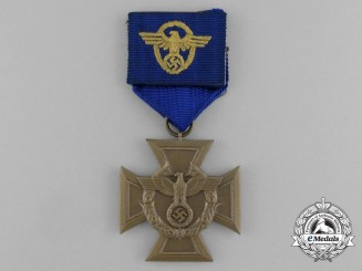 A Mint Border Protection (Zollgrenzschutz/Customs Protection) Long Service Award; Mounted