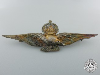 A Second War Royal Air Force (RAF) Eagle Badge by A.Bros