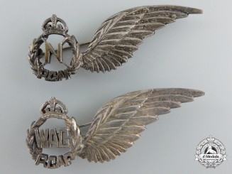 Two Second War  Royal Canadian Air Force (RCAF) Wings