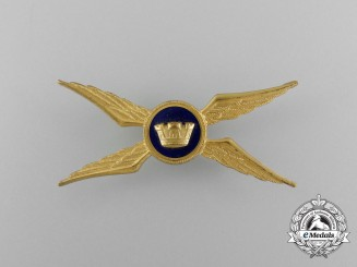 An Italian Army (Esercito Italiano) Pilot Badge
