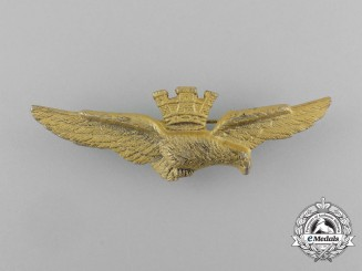 An Italian Air Force (Aeronautica Militare) Pilot Badge