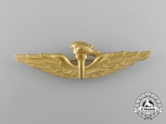 An Italian Navy (Marina Militare) Naval Observer Badge