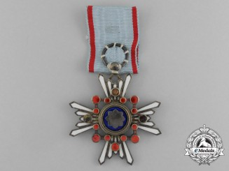 Japan, Empire. An Order of the Sacred Treasure, VI Class