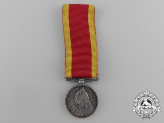 A Miniature 1900 China War Medal 1900