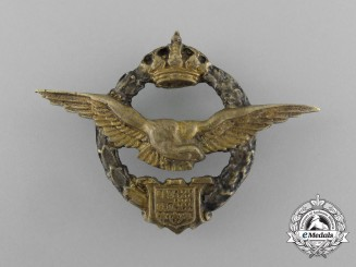 Yugoslavia, Kingdom. An Army Pilot Badge, Egyptian Theatre Made