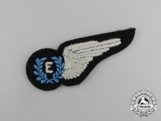 A Second War Royal Australian Air Force (RAAF) Engineer (E) Wing