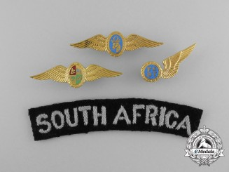 Four South African Air Force (SAAF) Items