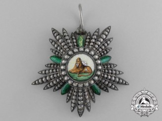A Dutch-made Iranian Order of the Lion and the Sun; Knight 5th Class