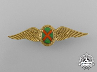 A South African Army Commando Pilot Badge