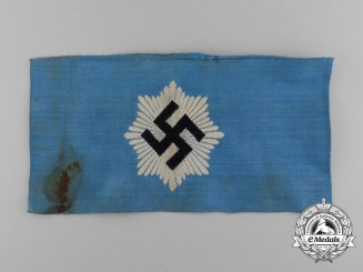 A RLB (Air Raid Protection League) Member's Armband; 2nd Type by BeVo Wuppertal