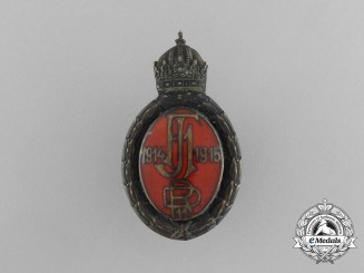 An Austrian First War Regimental Badge 1914-1915