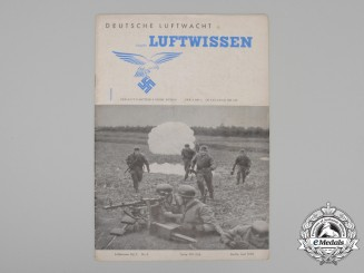 "A 1940 Issue of Luftwaffe Propaganda & Science Magazine ""Deutsche Luftwacht"""