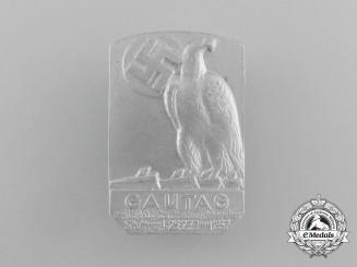 A 1937 NSDAP Gautag of Württenberg/Stuttgart Badge