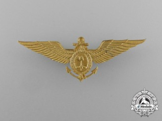 An Argentine Air Force Naval Pilot Badge