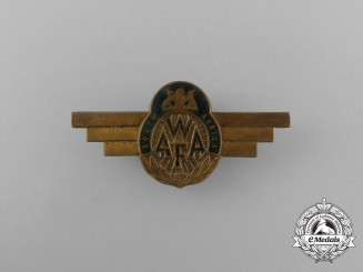 A Scarce South African Women's Auxilliary Air Force (WAAF) Pilot Badge