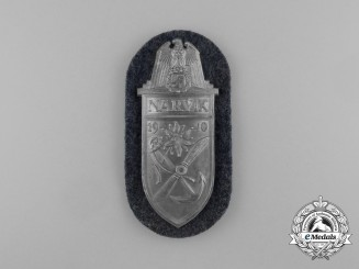 A Mint Luftwaffe Issue Narvik Campaign Shield