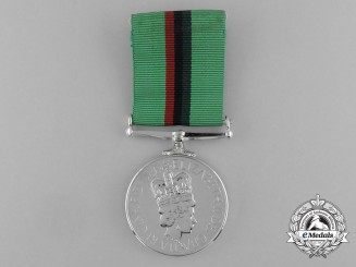 A Royal Ulster Constabulary Service Medal