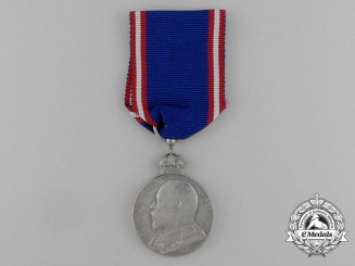 A Silver Royal Victorian Order Medal