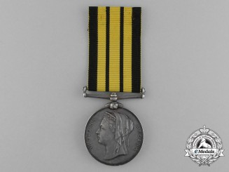 A 1874 Ashantee Medal to West African Frontier Force