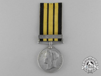 An 1887 East and West Africa Medal to the HMS Theseus