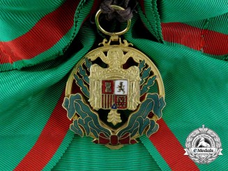 Spain. An Order of Africa; Grand Cross Badge, c.1955