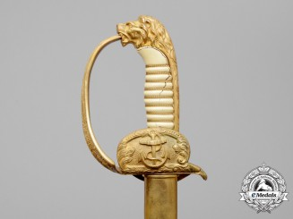 A Kriegsmarine Naval Officer's Sword by E. & F. Horster, Solingen
