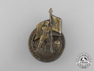 A 1937 10 Years of NSDAP in  Bergzabern Badge