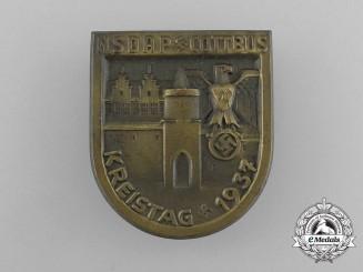 A 1937 NSDAP Cottbus District Council Day Badge