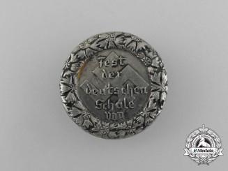 A Third Reich German Festival of German Schools Badge