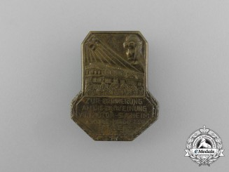 A 1933 Remembrance Badge of the Inauguration of the Motor SA in Trier Badge