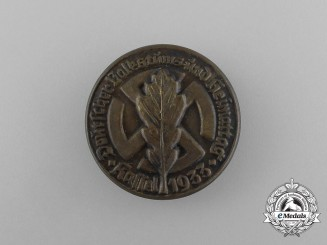 "A 1933 German ""Day of the Volk and Homeland"" in Kassel Badge"