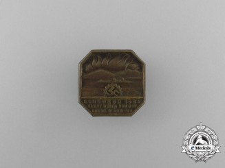 A 1934 KDF Munich Summer Solstice Celebration Badge