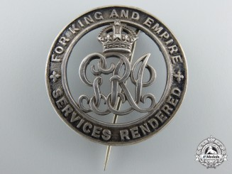A First War British Army Issued Silver War Badge