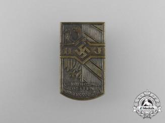 A 1933 HJ 1st Franken-Ostmark Meeting Badge