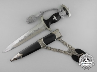 A Model 1936 SS-Leader's Chained Dagger