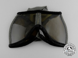 A Second War German Army (Heer) Sun Protection Glasses (Augenschützer 42)