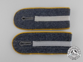 A Set of Luftwaffe Eastern Volunteers Flight Junior Officer's Shoulder Boards