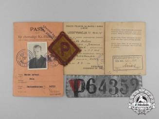 A Liberated Polish Prisoner Group to Antoni Macko