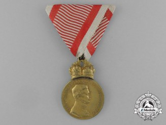 An Austrian Military Merit Medal