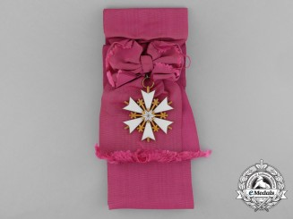 An Estonian Order of the White Star; First Class Badge