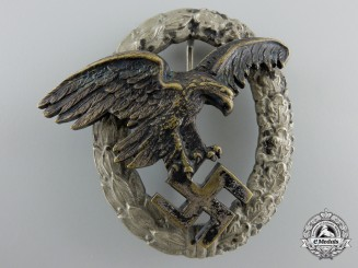 An Early Luftwaffe Observer's Badge by Juncker, Berlin