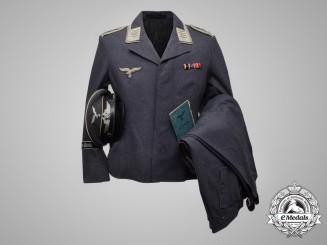 A Hermann Göring Division NCO's Uniform & Soldbuch of Oberfeldwebel Franz Weigl