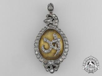"A Tunisian Order of Glory (Nishan al-Iftikhar) Ahmad Bey ""Special Grade"" Badge"
