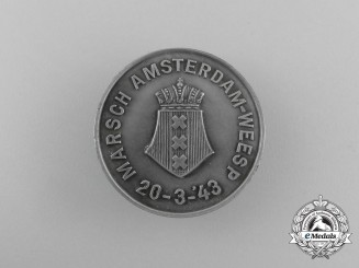 An Amsterdam-Weesp March Badge 1943