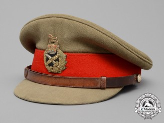A Late 1950's British Field Marshal's Dress Visor Cap