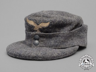 A Luftwaffe HJ Flak Helper's Cap