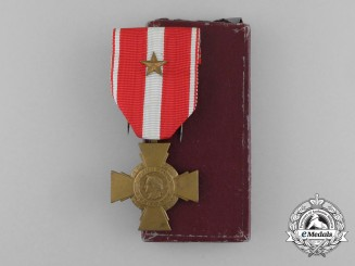 A French Cross of Military Valour in Box
