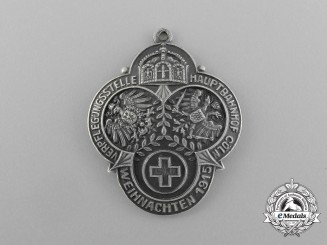 A Christmas 1915 Cologne First Aid and Soup Kitchen Donation Badge