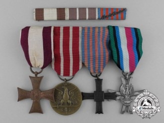 A Second War Polish Monte Cassino Medal Group