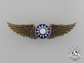 A Republic of China Air Force Basic Pilot Badge